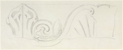 Drawing from a set of 16 architectural details in N. India made between 1786 and 1792 1800